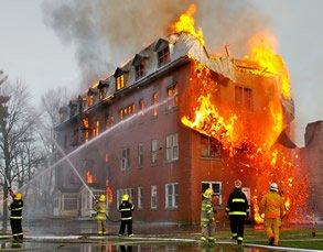بیمه نامه های آتش سوزی